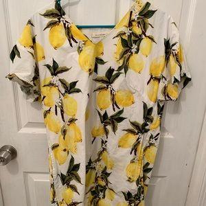 Lemon dress size s